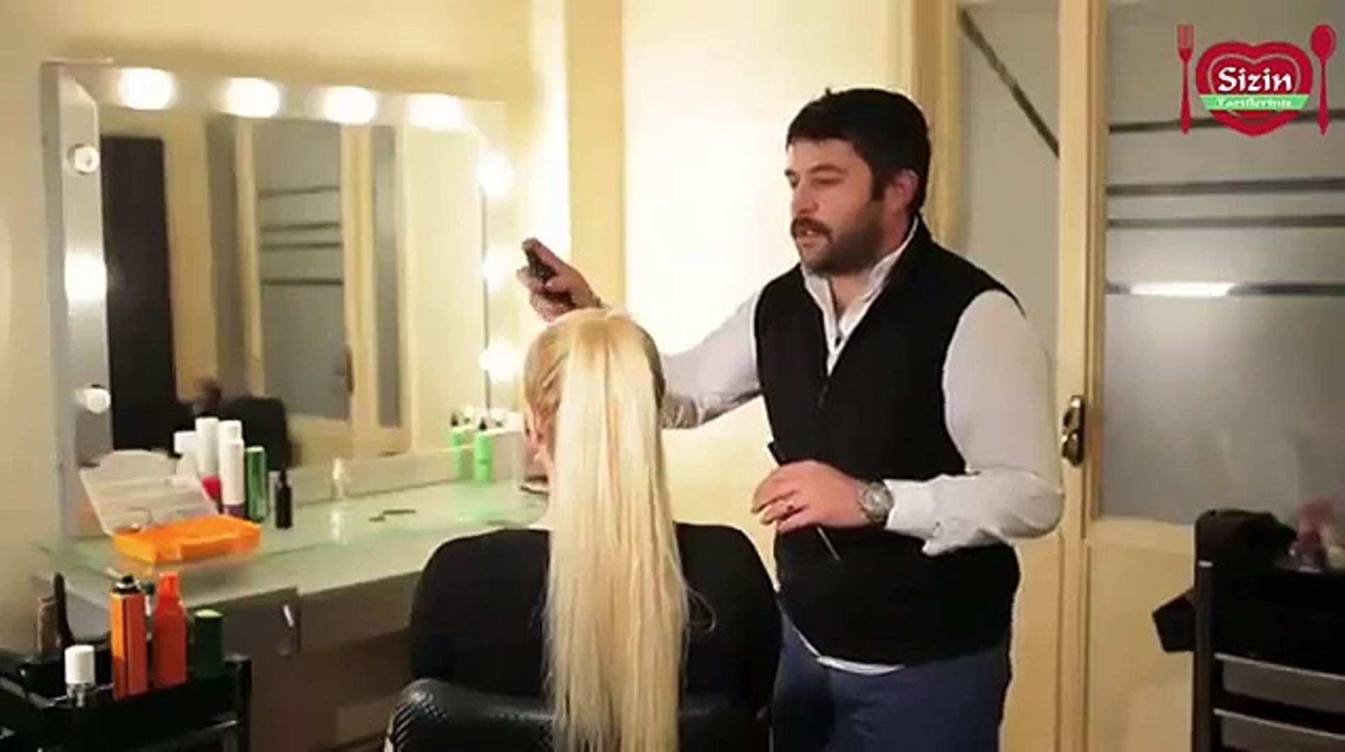 Saçlara kafes örgü nasıl yapılır