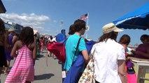BOARDWALK WALKING TOUR - POINT PLEASANT BEACH NJ - New Jersey Shore Ocean View Travel Vacation