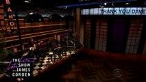 Un dernier hommage à Letterman par James Corden