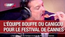 L'équipe bouffe du Canigou à cause du Festival de Cannes - C'Cauet sur NRJ