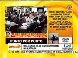 Punto por Punto: BBL lusot sa ad hoc committee ng Kamara