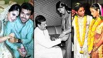Tollywood Big Fat Weddings Candid   Ram Charan Allu Arjun