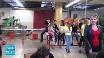 Revivez la folle journée de Course en cours à l'IUT de Troyes
