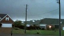 Tornado Rolls into Mississippi Town! Violent 70 MPH Wind & Rain Severe Thunder/Lightning Storm