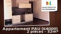 A vendre - Appartement - PAU (64000) - 2 pièces - 32m²