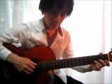 Fly me to the moon (Bart Howard) solo guitar played by Tanaka Yoshinori (With Tablature) Jazz cover