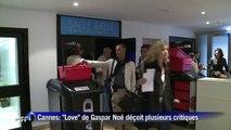 """Cannes: le sulfureux """"Love"""" de Gaspar Noé déçoit"""