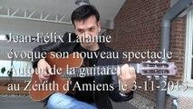 Jean-Félix Lalanne en promo pour le Zénith d'Amiens