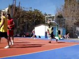 Slam dunk contest - Sport Arena Streetball 2005