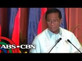 VP Binay talks about allegations
