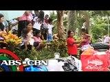Mga nasa paanan ng nag-aalburotong Mayon nailikas na