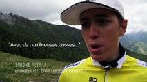 Ronde de l'Isard - Etape 1 : La réaction de Simone Petilli