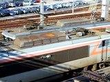 Ambiance Dépôt SNCF, locomotives BB 7200 & co.