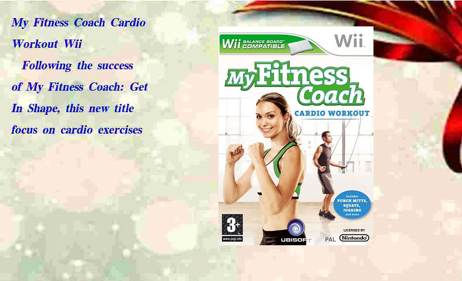 2018 shoes really cheap outlet store My Fitness Coach Cardio Workout Wii - video dailymotion