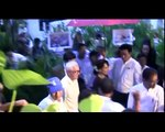 Daw Aung San Suu Kyi attend  French embassy photo graph show
