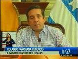 Rolando Panchana deja la Gobernación del Guayas
