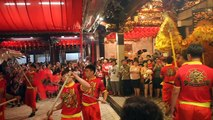 Chinese New Year at Thian Hock Keng temple, Singapore