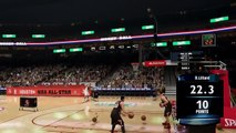 Nba 2k14 Next Gen Nba All-Star 3-Point Contest|Stephen Curry,K.Martin,Mayo,N.Robinson Xbox One Ps4