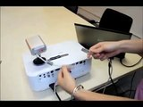 Portable Interactive Whiteboard transfer any Surfaces to be Interactive