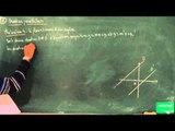 AFB / Equations de droites - Systèmes linéaires / Droites parallèles