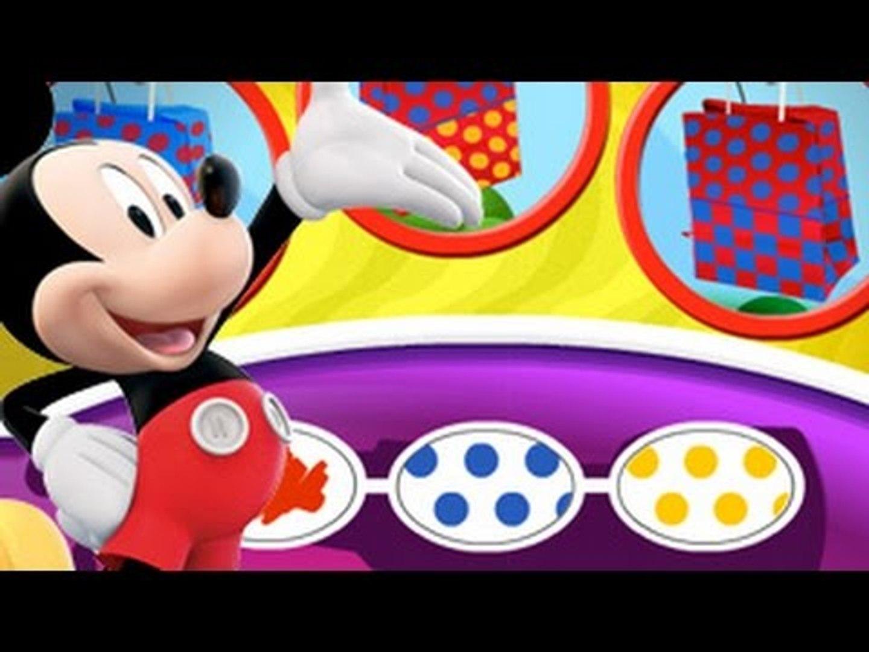 Klub Przyjaciół Myszki Miki-nauka kolorów- wskazywacz GRAJ Z NAMI