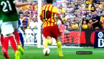 Lionel Messi Awesome Skills 2014-2015 Amazing Dribblings - God of Football - Messi Legend