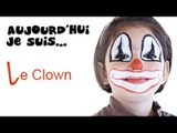 Maquillage Clown - Tutoriel maquillage enfant facile