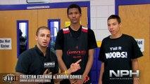 NPH - Tristan Etienne & Jadon Cohee @ Las Vegas Big Foot Hoops Tournament