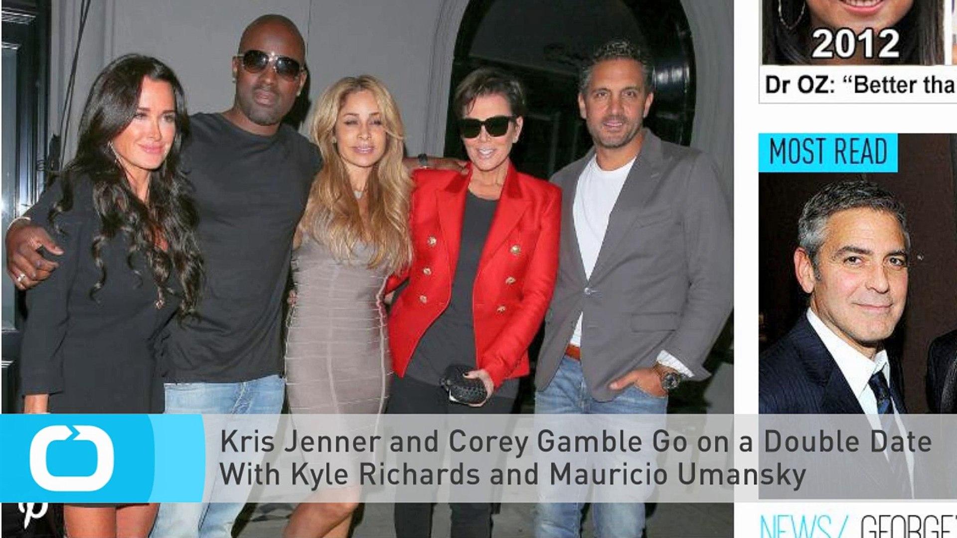 Kris Jenner en Corey dating CE Este speed dating