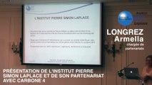 Petit-déjeuner adaptation au changement climatique : Armella Longrez, chargée de partenariats à l'IPSL