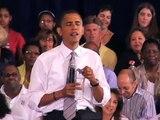 Barack Obama Discusses Civil Liberties At Farmington Hills Town Hall