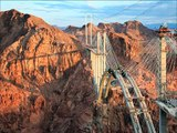 New Hoover Dam Bridge (Between Nevada and Arizona) A Construção de uma  Super Ponte