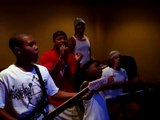 santana moss singing with his fam on rock band 2