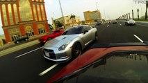 Twin Turbo Corvette battles 800+HP GTR and GSXR1000