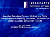 INTEGRATED PODCAST: Boundary Element Method and Finite Element Method meshing