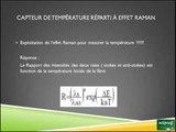 Capteur de fibre optique à effet Raman