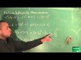 151 / Fonction carrée, équations et inéquations / Factoriser une expression (3)