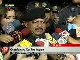 Venezuela, Carlos Meza director de la Policia Metropolitana solicita investigación a video manipulado por opositores estudiantes