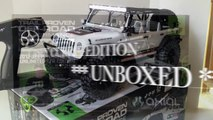 New Axial Jeep 2012 Wrangler Unlimited C/R Edition**UNBOXED**Pure RC 4x4 Tybo's RC Motorsports