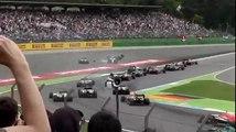 F1 2014 - German GP - Felipe Massa AMAZING Crash (Different angle)