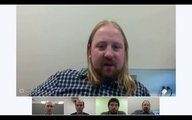 Demo of Google Hangouts on Air