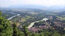Crue décennale de l'Isère dans le Royans Vercors
