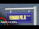 Batangas road named after FPJ