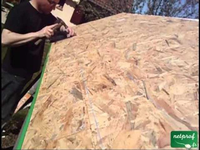 Réaliser une toiture en bardeaux bitumés