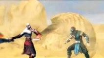 Mortal Kombat 9 Kratos Arena Fatality Level One