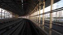 Japanese Trains: Yurikamome Line in Tokyo (HD)