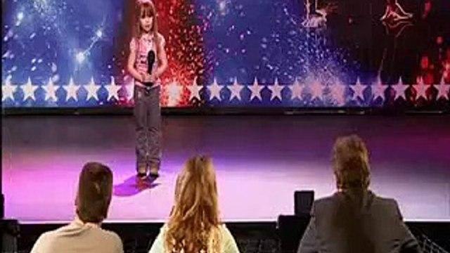 "Kopie videa ☆""Britains Got Talent or Americas Got Talent ♥ Connie Talbot WOWs Simon Cowell !"""