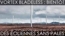 Vortex Bladeless, une surprenante éolienne sans hélice