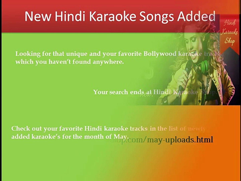 Bollywood Karaoke Tracks Uploaded In Month Of May Hindi Karaoke Shop Video Dailymotion I can make karafun files. dailymotion