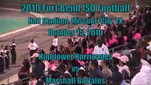 2010 Fort Bend Football - Hightower Hurricanes vs Marshall Buffaloes